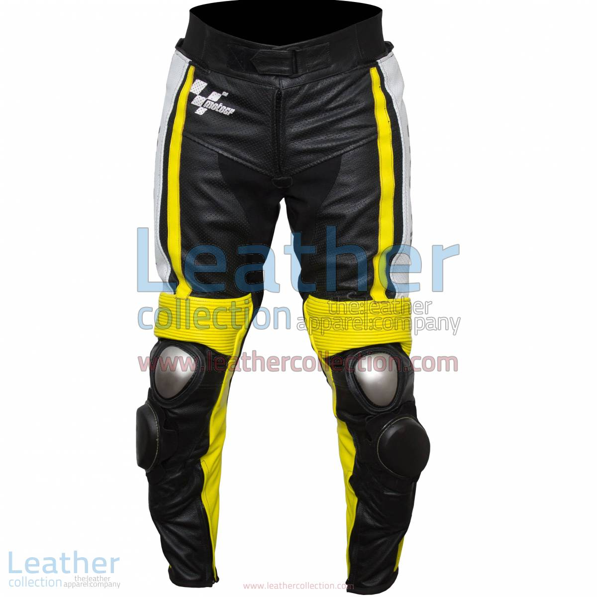 Ben Spies Yamaha Monster 2010 Leather Motorcycle Pants | leather motorcycle pants,motorcycle pants