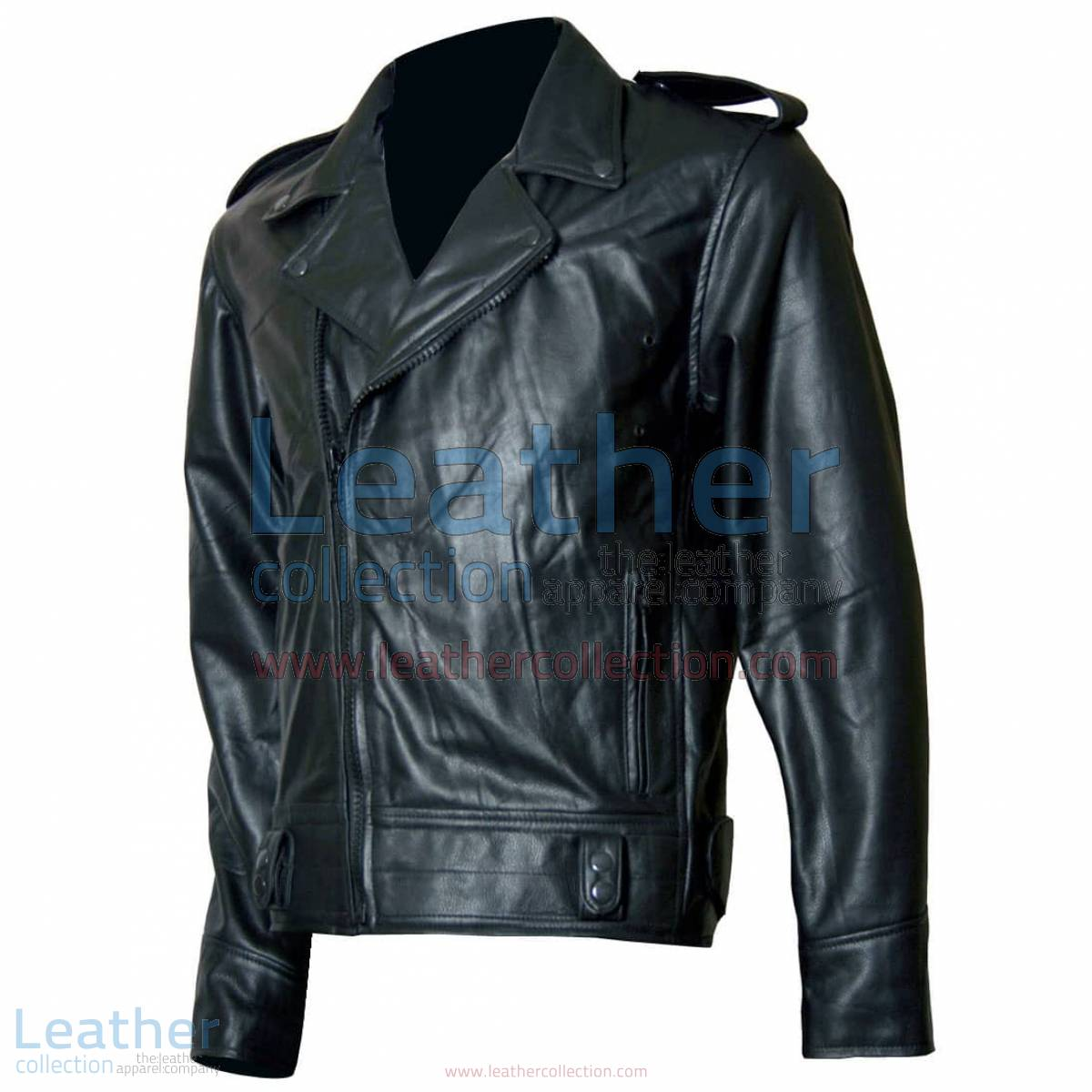 Biker Boyz Smoke Biker Black Leather Jacket | biker leather jacket,black leather jacket