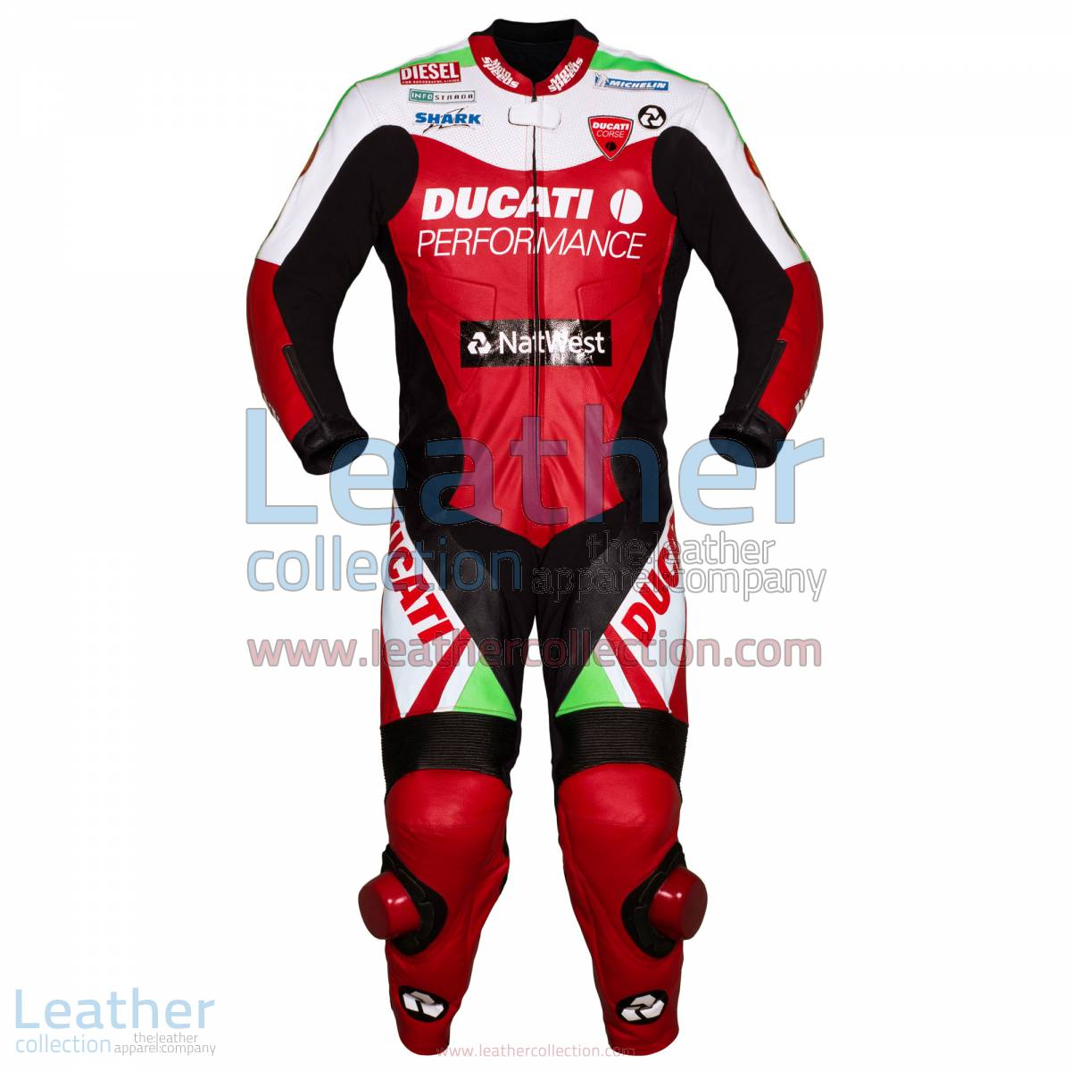 Carl Fogarty Ducati WSBK 1999 Racing Suit | ducati racing,ducati racing suit