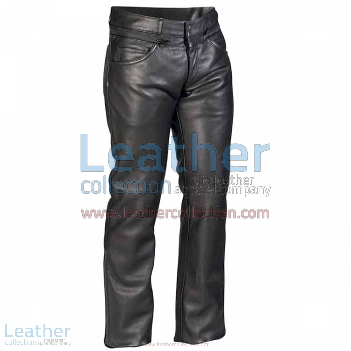 Classic Leather Pants | leather pants,classic pants