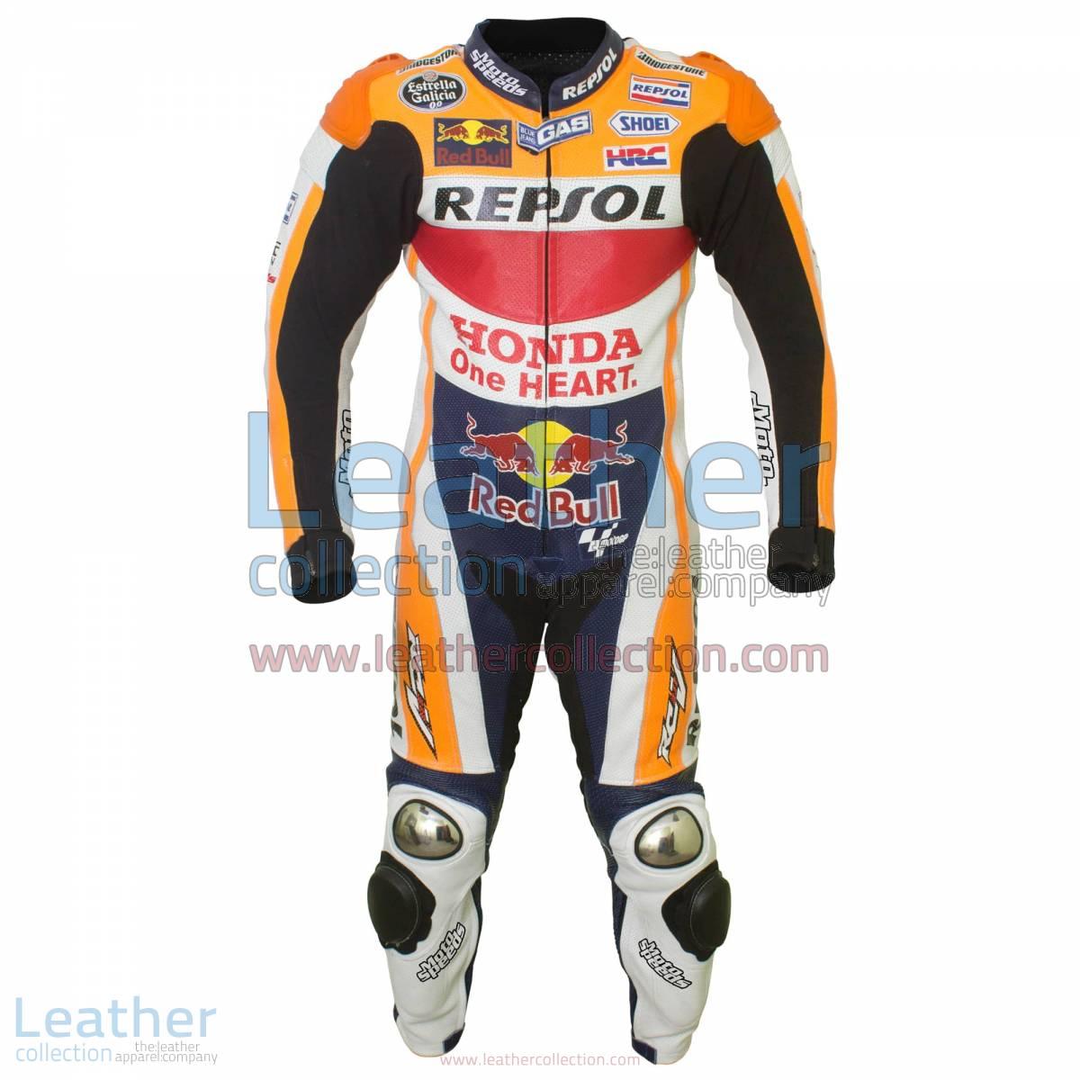 Marquez HRC Honda Repsol MotoGP 2015 Suit | Honda Repsol suit,Marquez suit