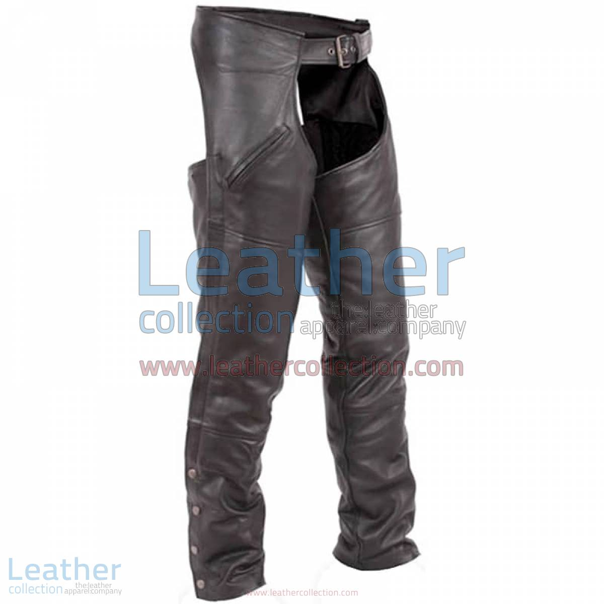 Premium Black Leather Motorbike Chaps | motorcycle chaps,Premium Black Leather motorcycle Chaps