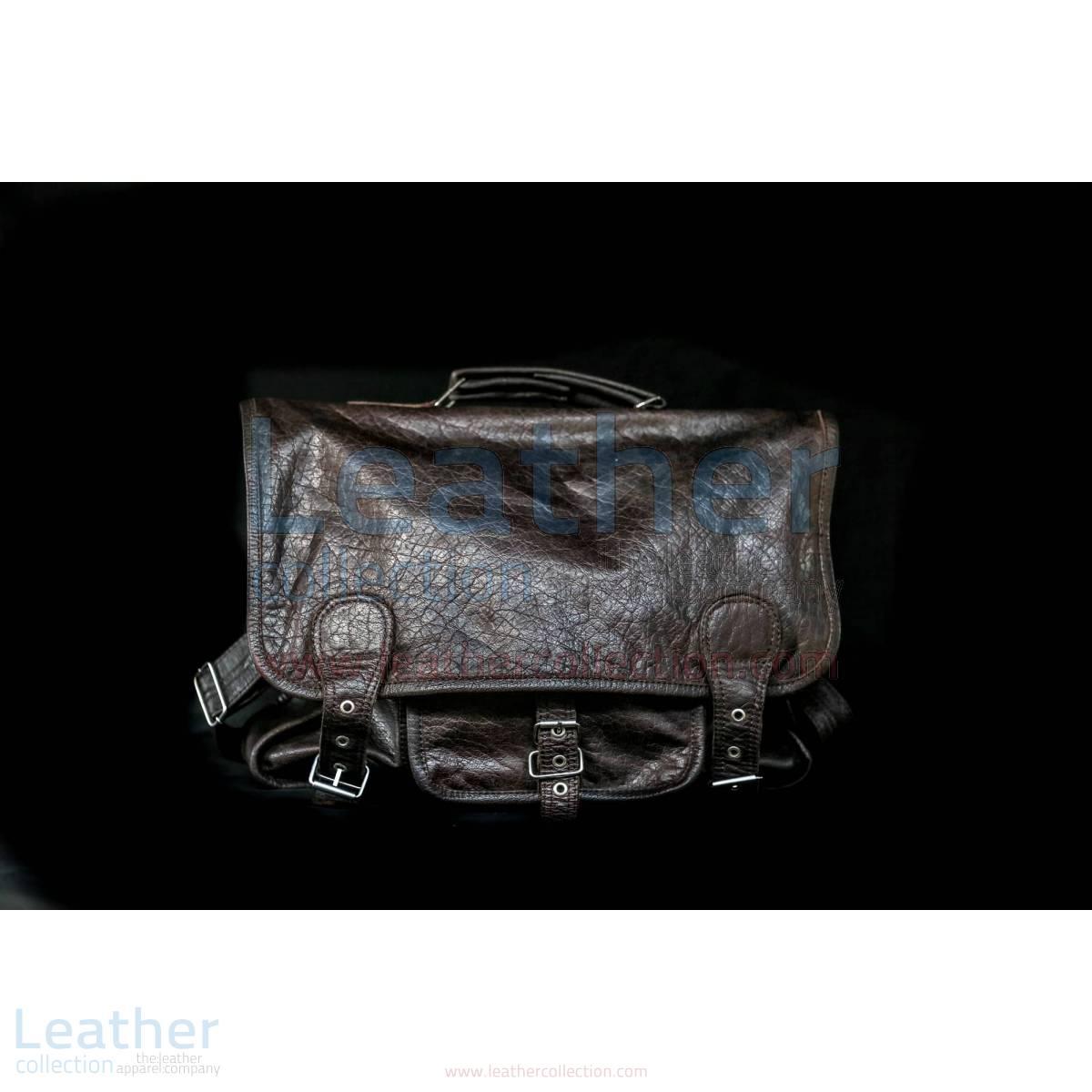 Alexzander Messenger Leather Bag –  Bag