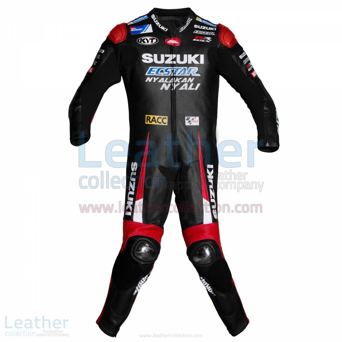 Aleix Espargaro Suzuki MotoGP 2016 Leather Suit – Suzuki Suit