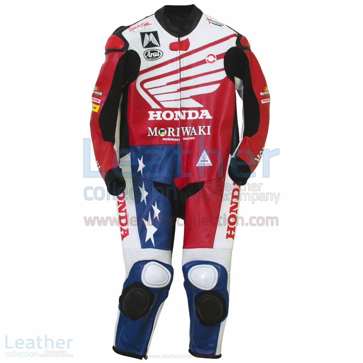 American Honda Moto2 Moriwaki MD600 Leathers – Honda Suit