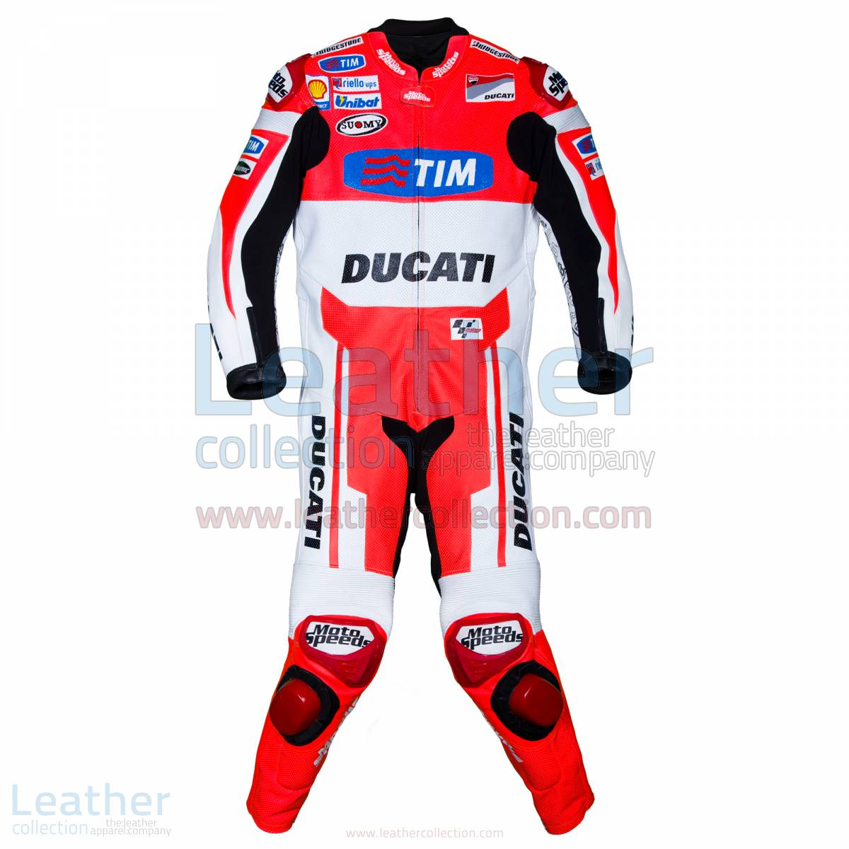 Andrea Dovizoso Ducati MotoGP 2015 Leathers