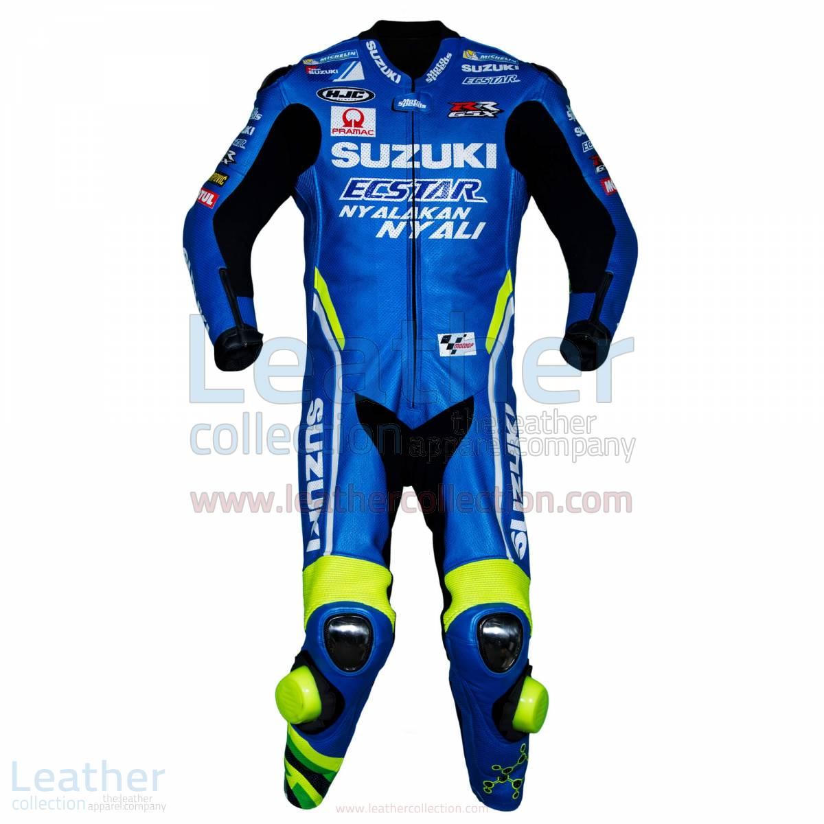 Andrea Iannone Suzuki MotoGP 2018 Leather Suit – Suzuki Suit