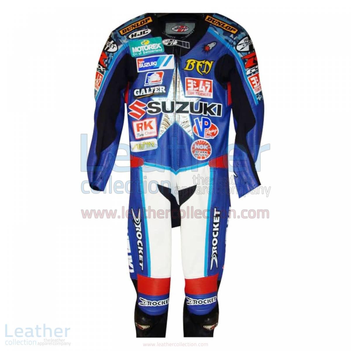 Ben Spies American Suzuki Leathers 2005 AMA – Suzuki Suit
