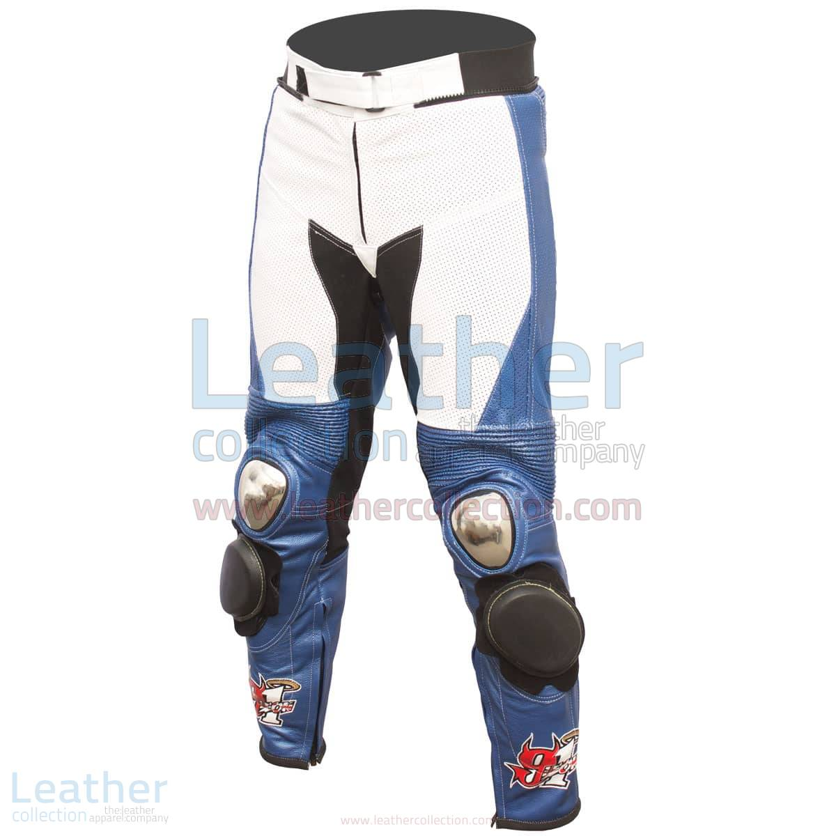 BMW easy Ride Motorbike Leather Pants Leon Haslam