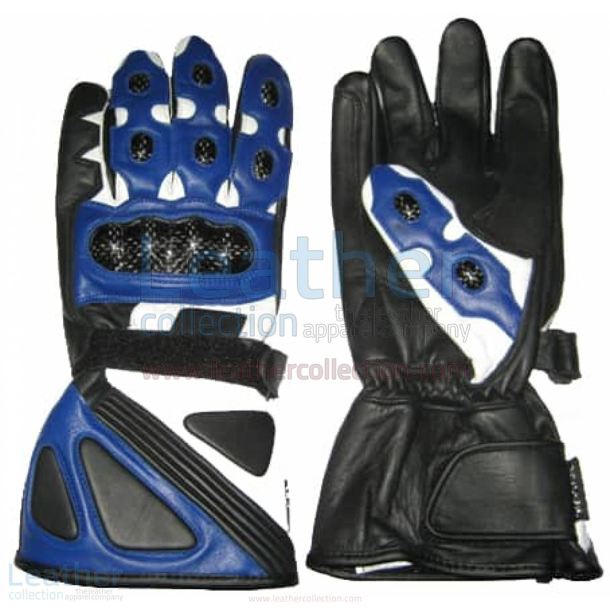 Bravo Blue Bike Gloves –  Gloves