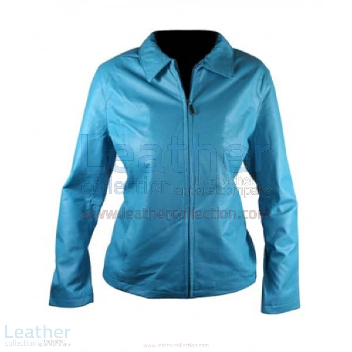 Classic Ladies Leather Jacket
