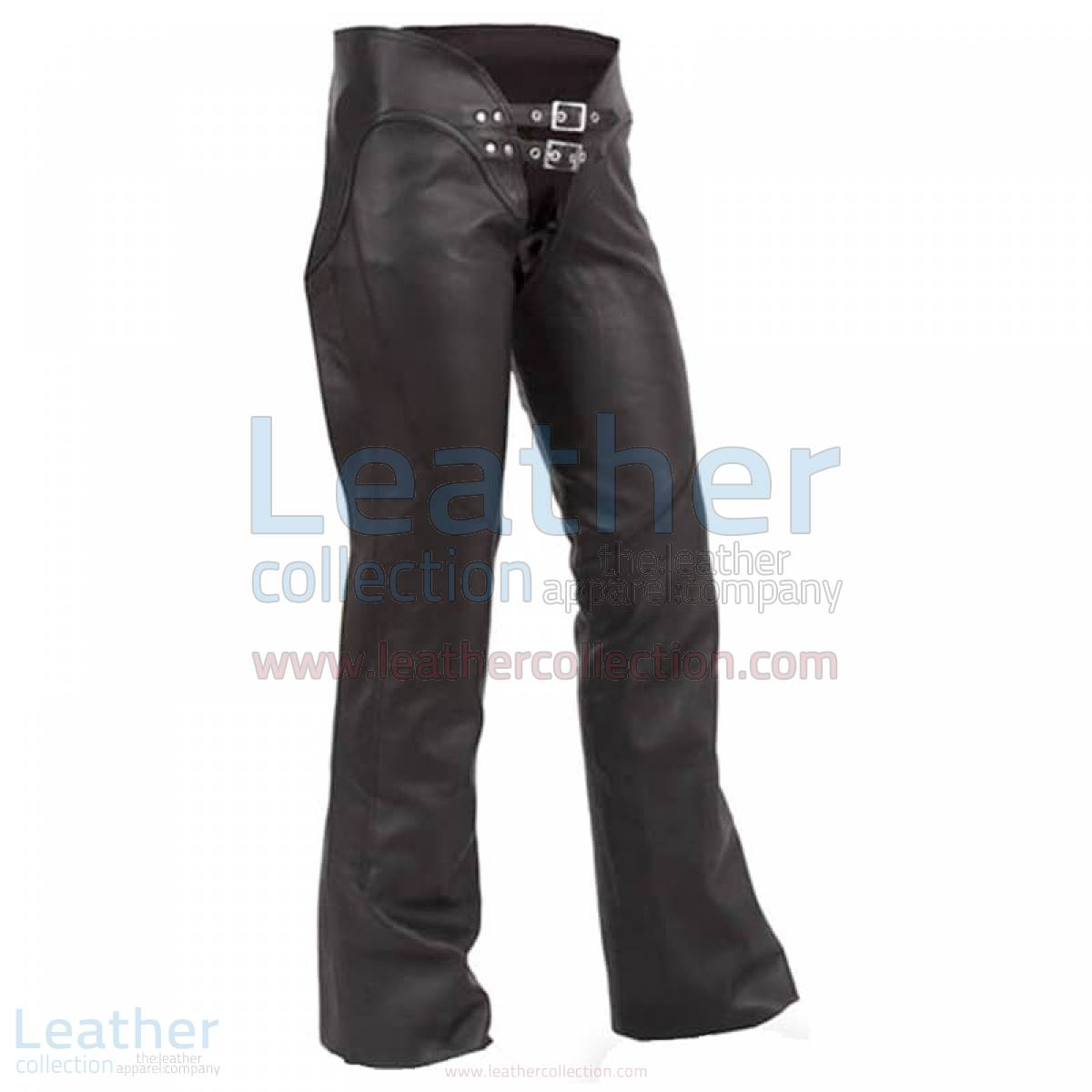 Double Belted Ladies Leather Chaps –  Chap
