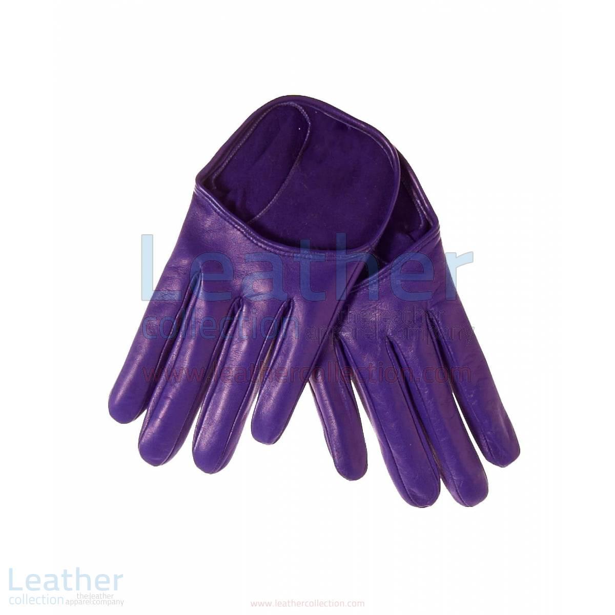 Fashion Short Leather Gloves