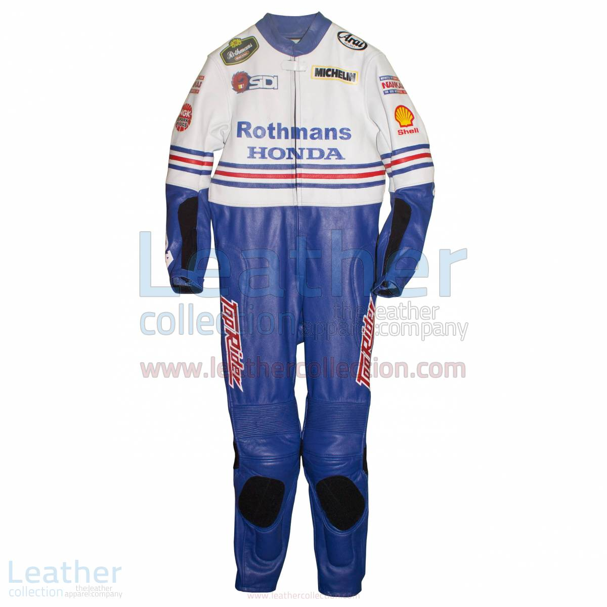 Freddie Spencer Rothmans Honda GP 1986 Leather Suit – Honda Suit