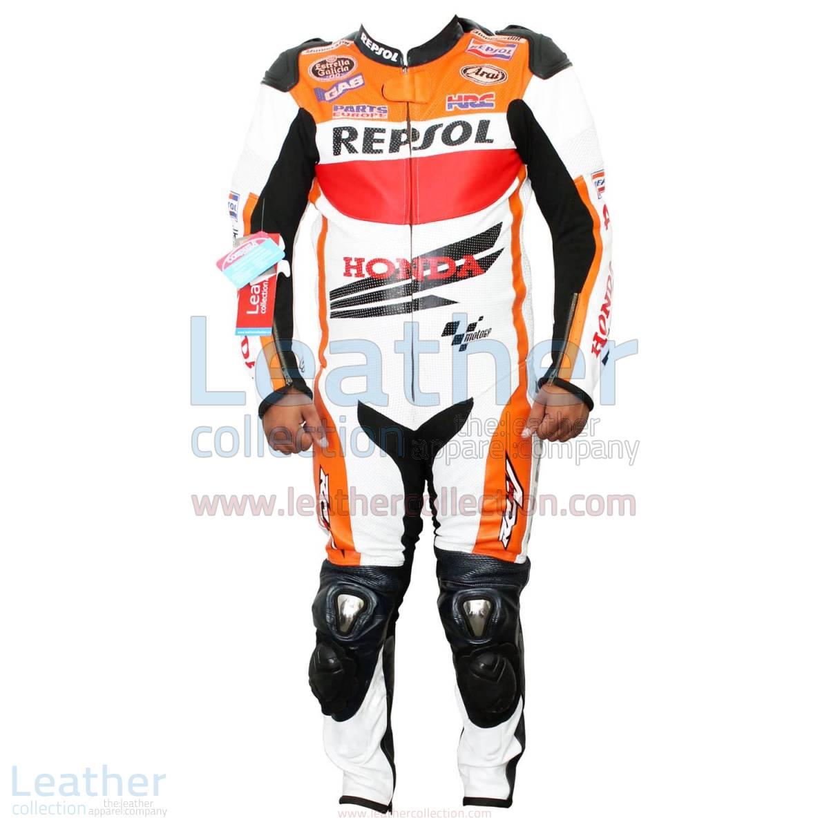 Honda Repsol 2013 Dani Pedrosa Leathers