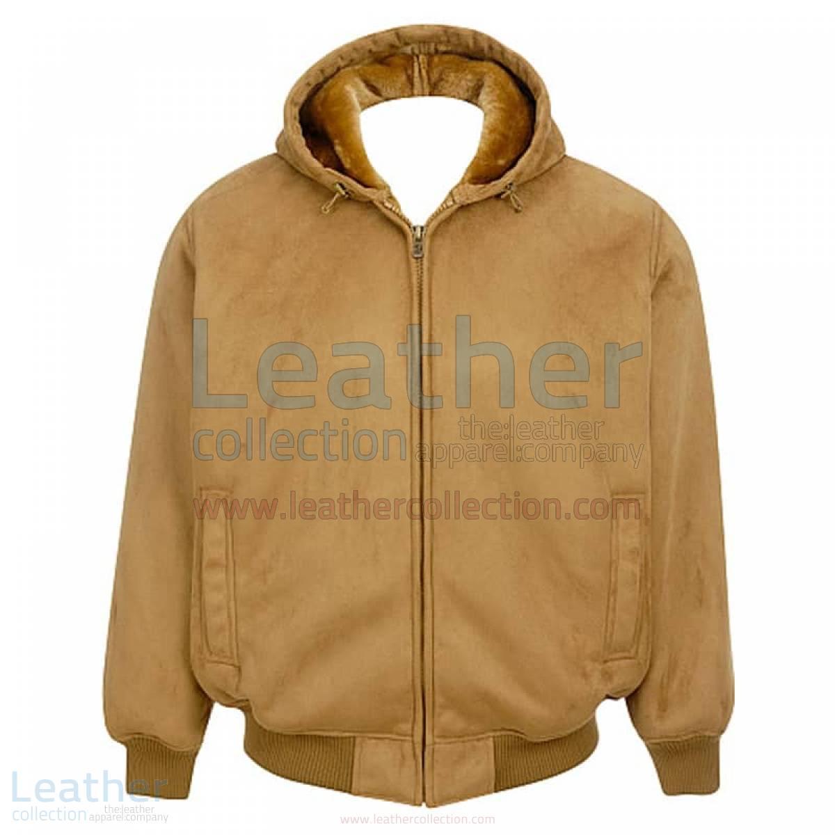 hooded bomber jacket mens