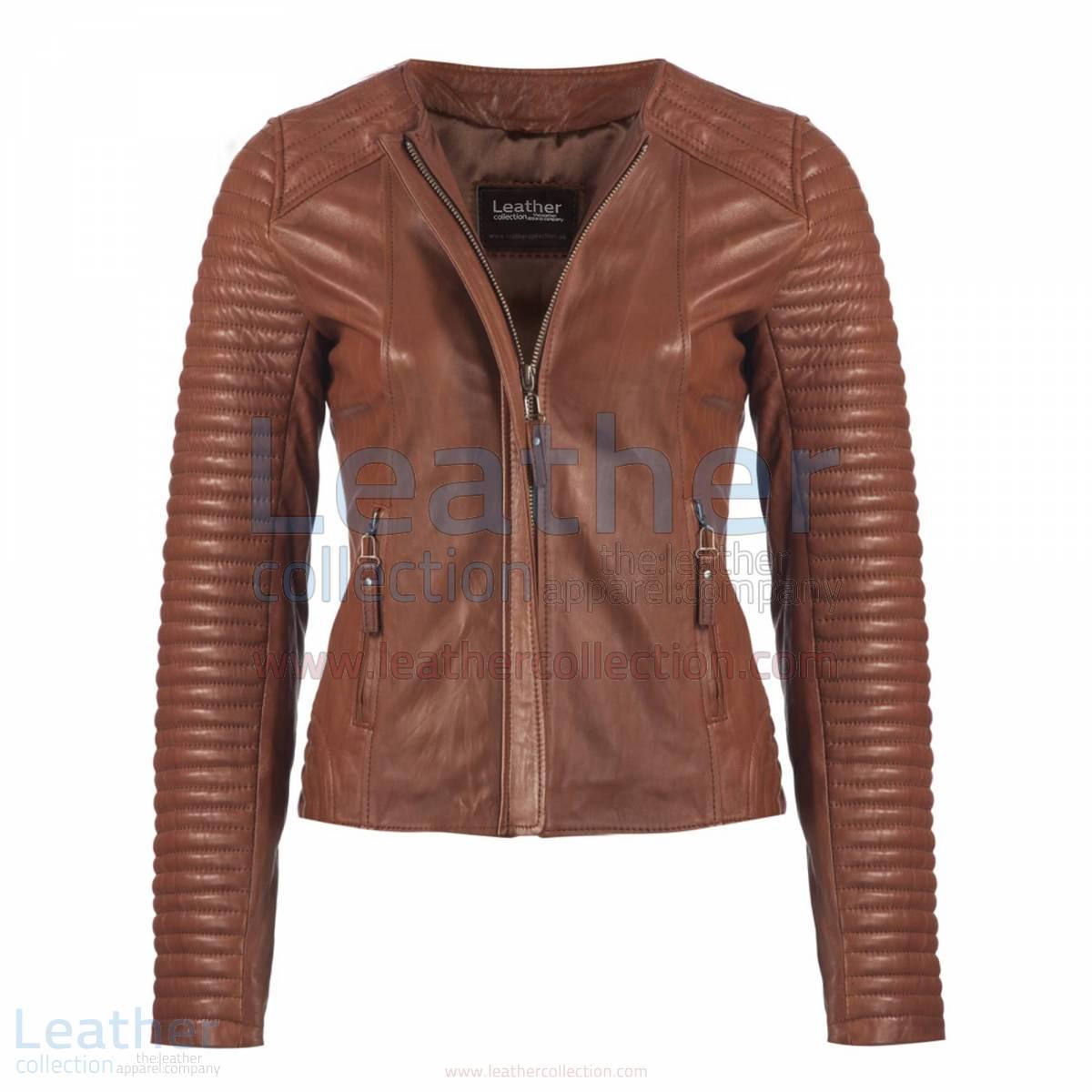 Ladies Legacy Leather Jacket –  Jacket