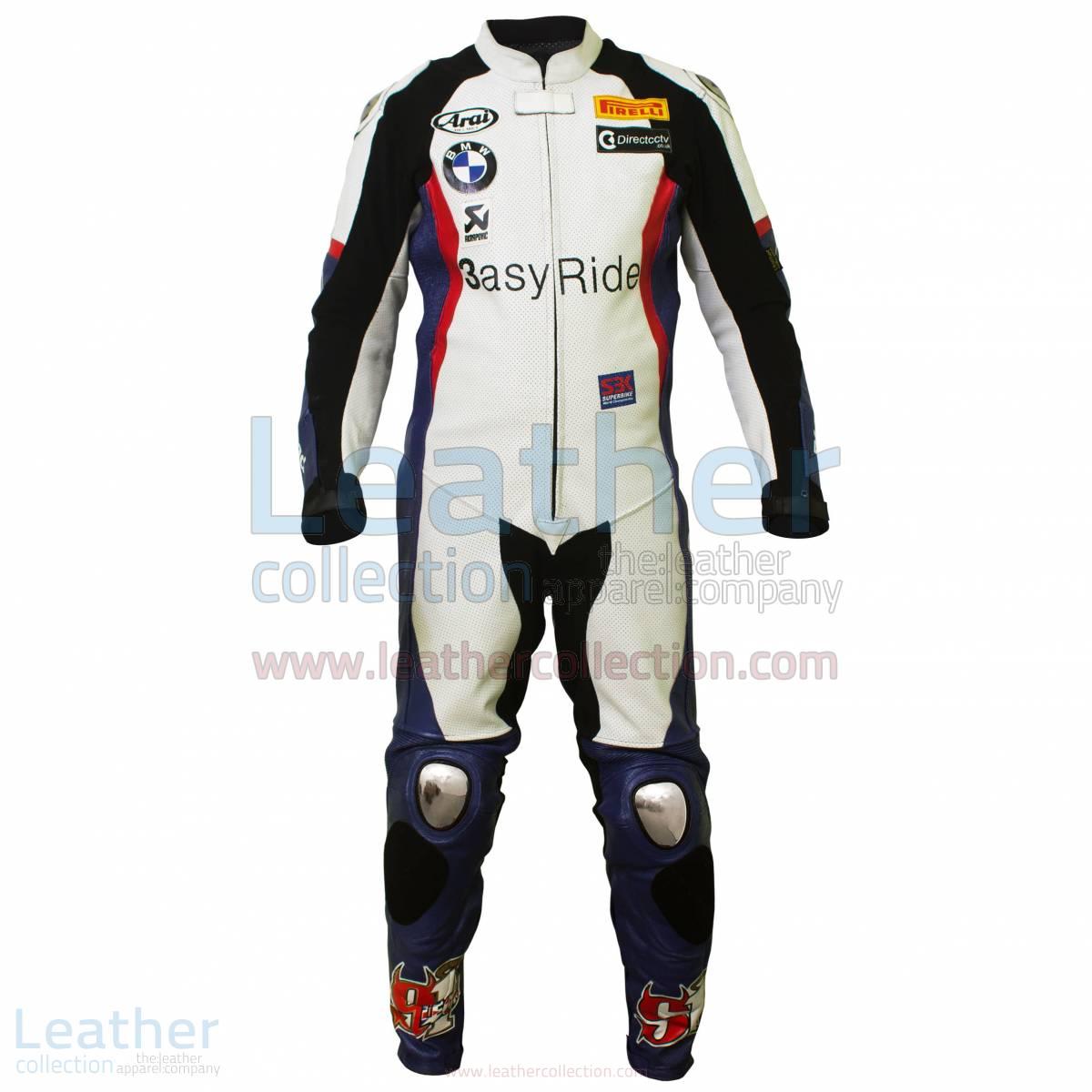 Leon Haslam BMW WSBK 2011 leathers