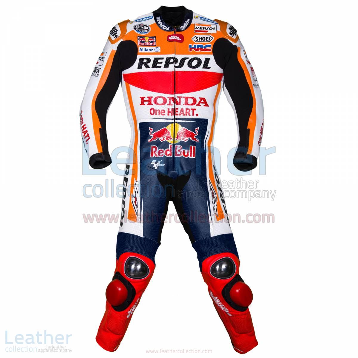 Marquez HRC Honda Repsol MotoGP 2017 Race Suit – Honda Suit