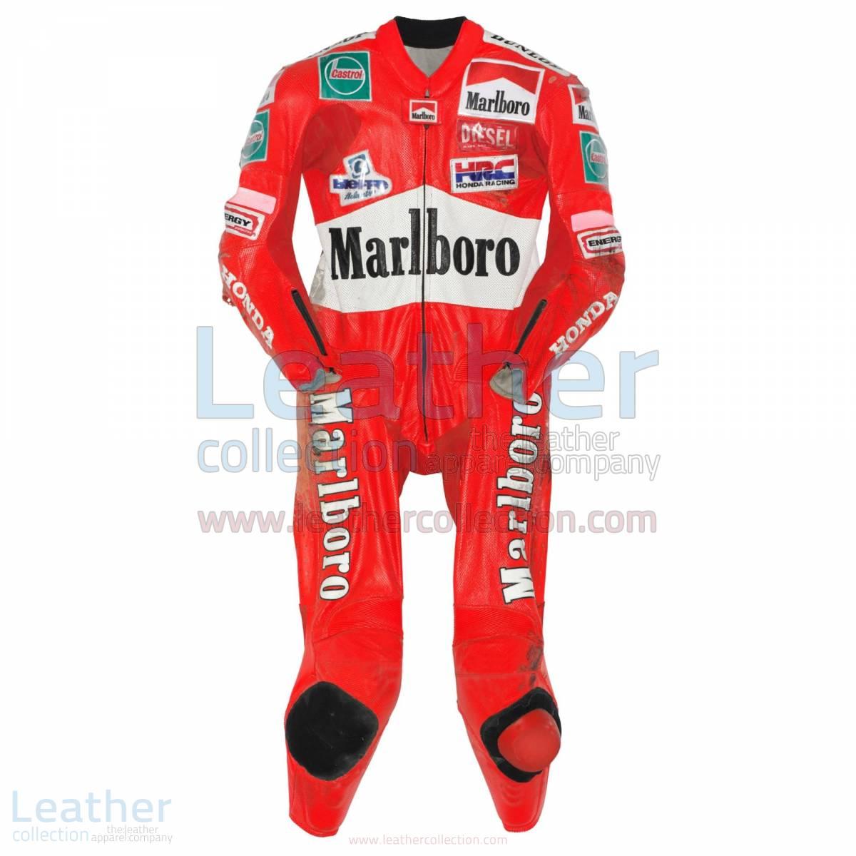 Max Biaggi Honda GP 1997 Racing Leathers – Honda Suit