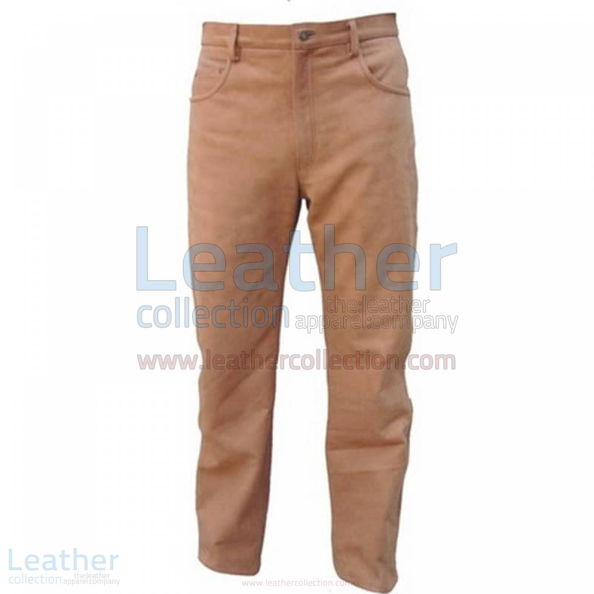 leather male pants