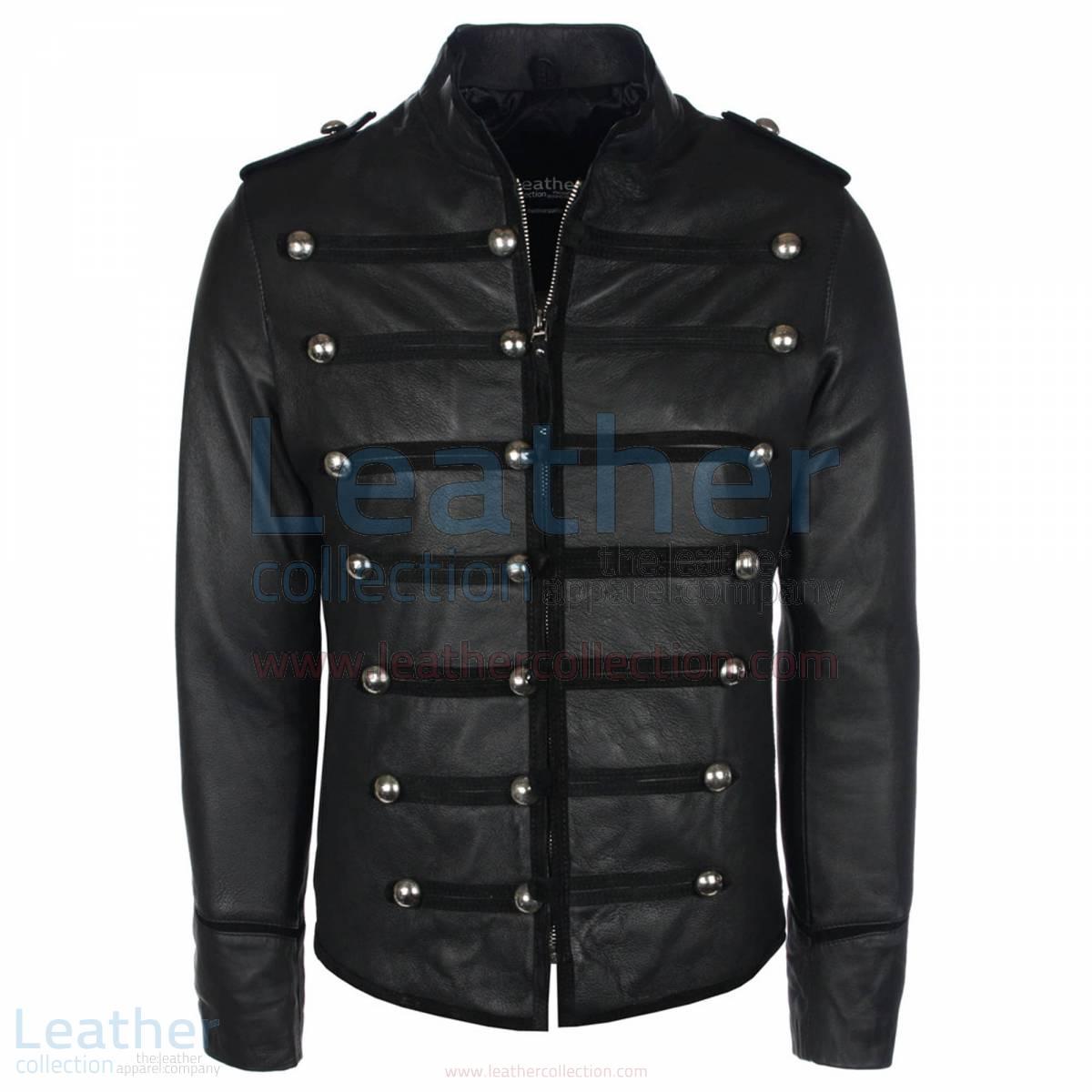 Prince Military Biker Leather Jacket –  Jacket