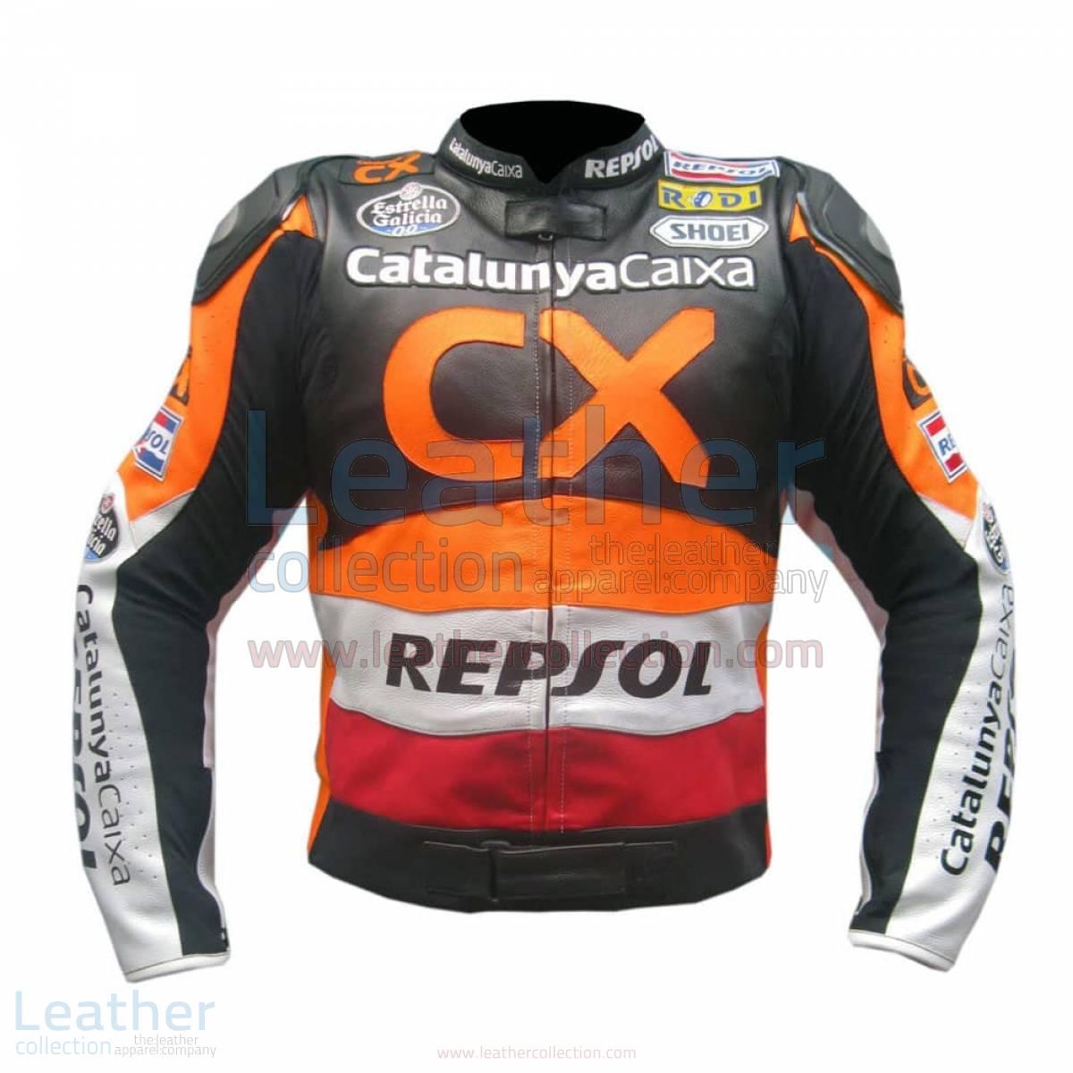 Repsol CX Leather Race Jacket –  Jacket
