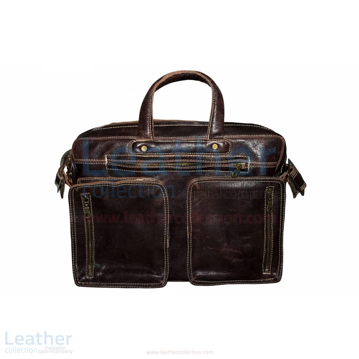 Retro Leather Laptop Bag –  Bag