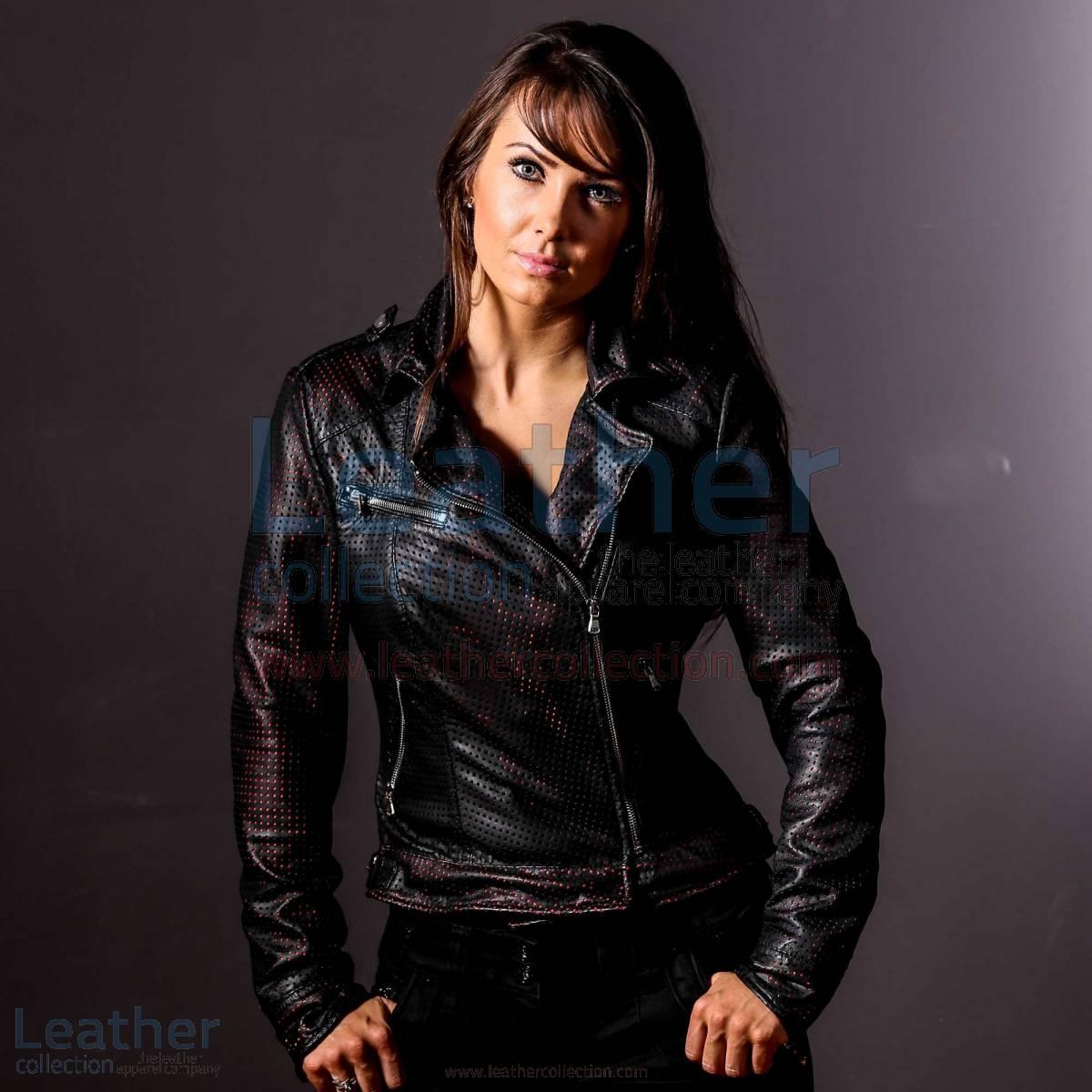 She Devil Leather Bomber Jacket Women –  Jacket
