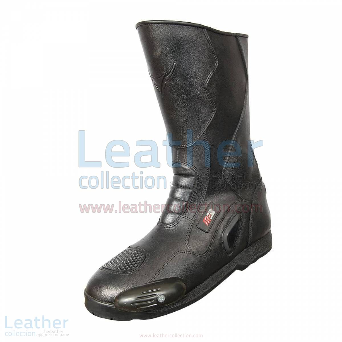 Snake Leather Moto Boots –  Boot
