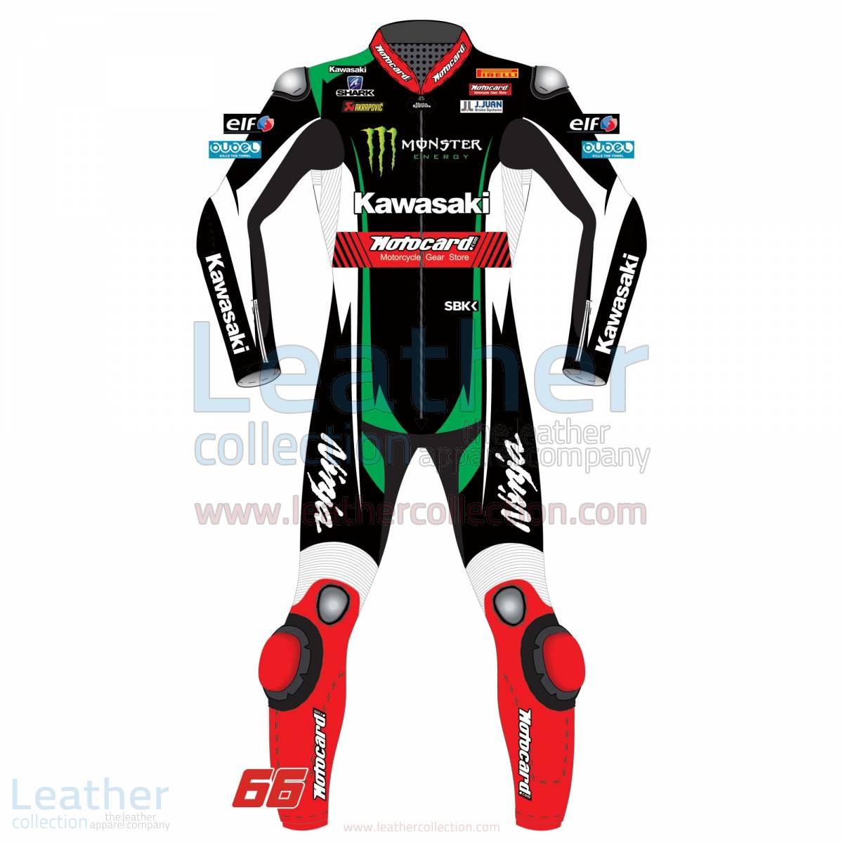 Tom Sykes Kawasaki Racing Motorcycle Suit WSBK 2017 – Kawasaki Suit