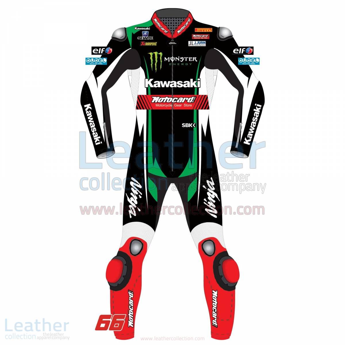 Tom Sykes Kawasaki Racing Motorcycle Suit WSBK 2017 – Kawasaki Suit