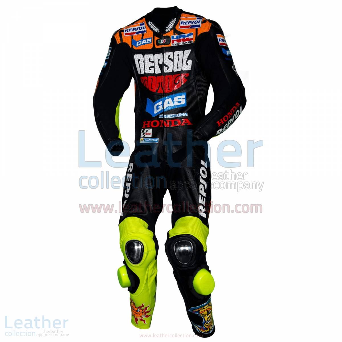 Valentino Rossi Motociclismo Repsol Honda Suit Black – Honda Suit