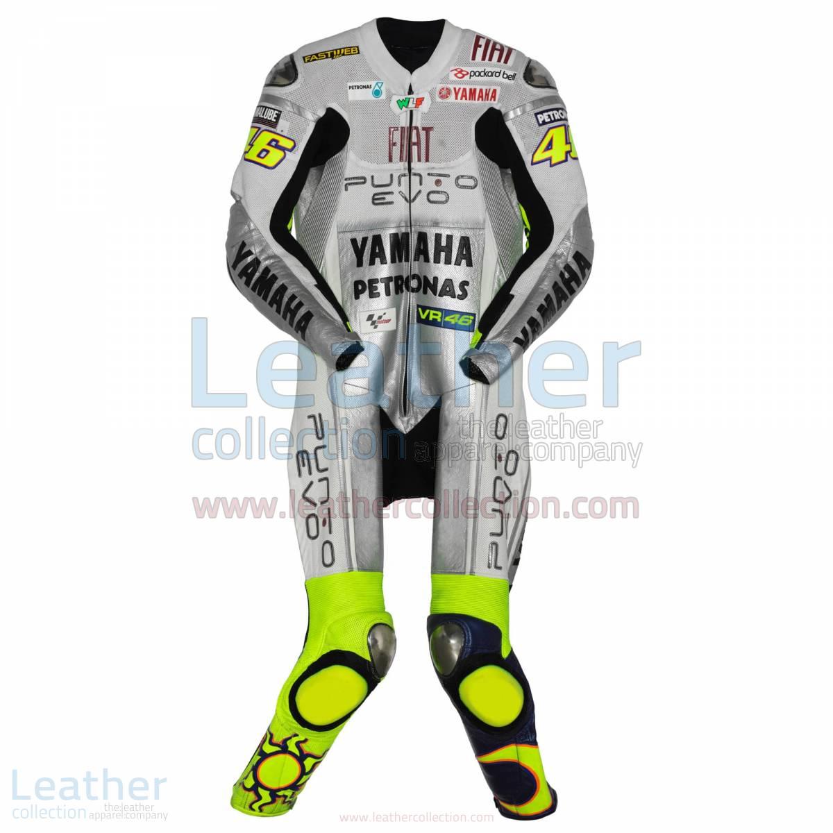 Valentino Rossi Yamaha Fiat 2009 Racing Suit – Yamaha Suit