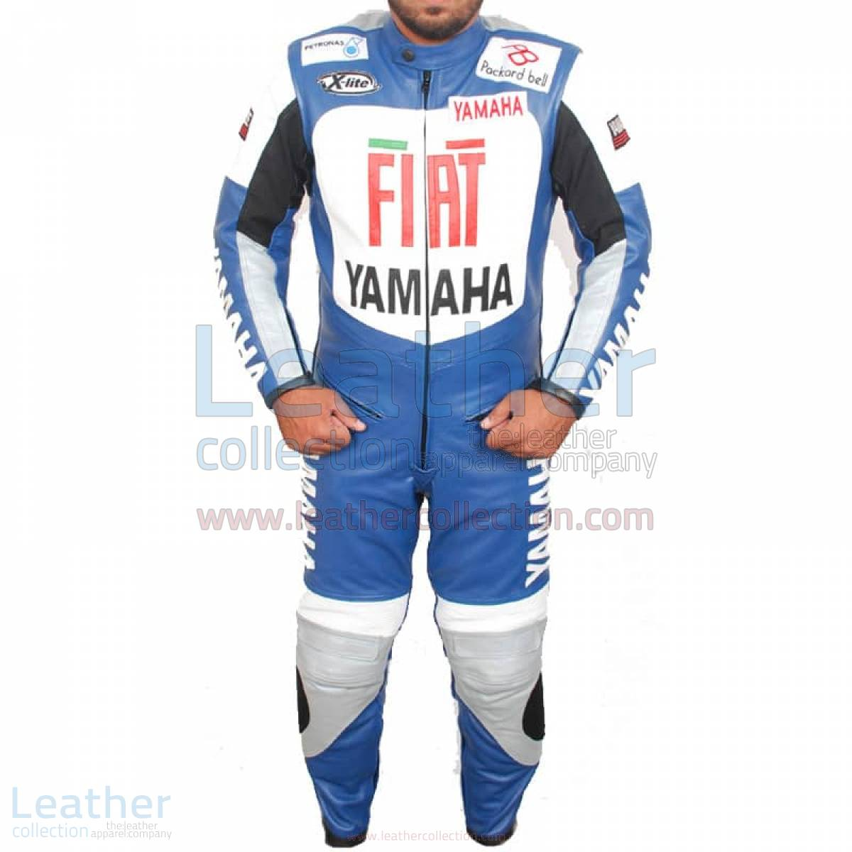 Yamaha FIAT Motorcycle Racing Leather Suit – Yamaha Suit