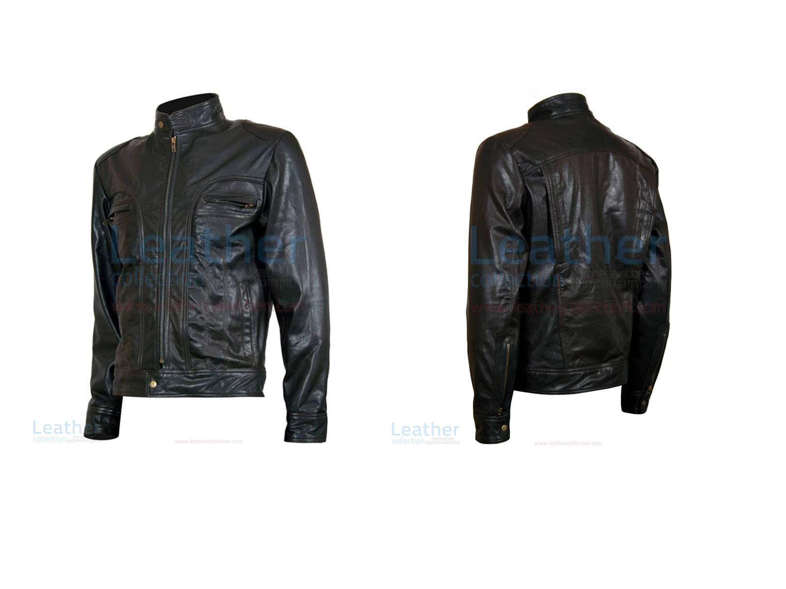 "GHOSTS OF GIRLFRIENDS PAST ""MATTHEW"" LEATHER JACKET"