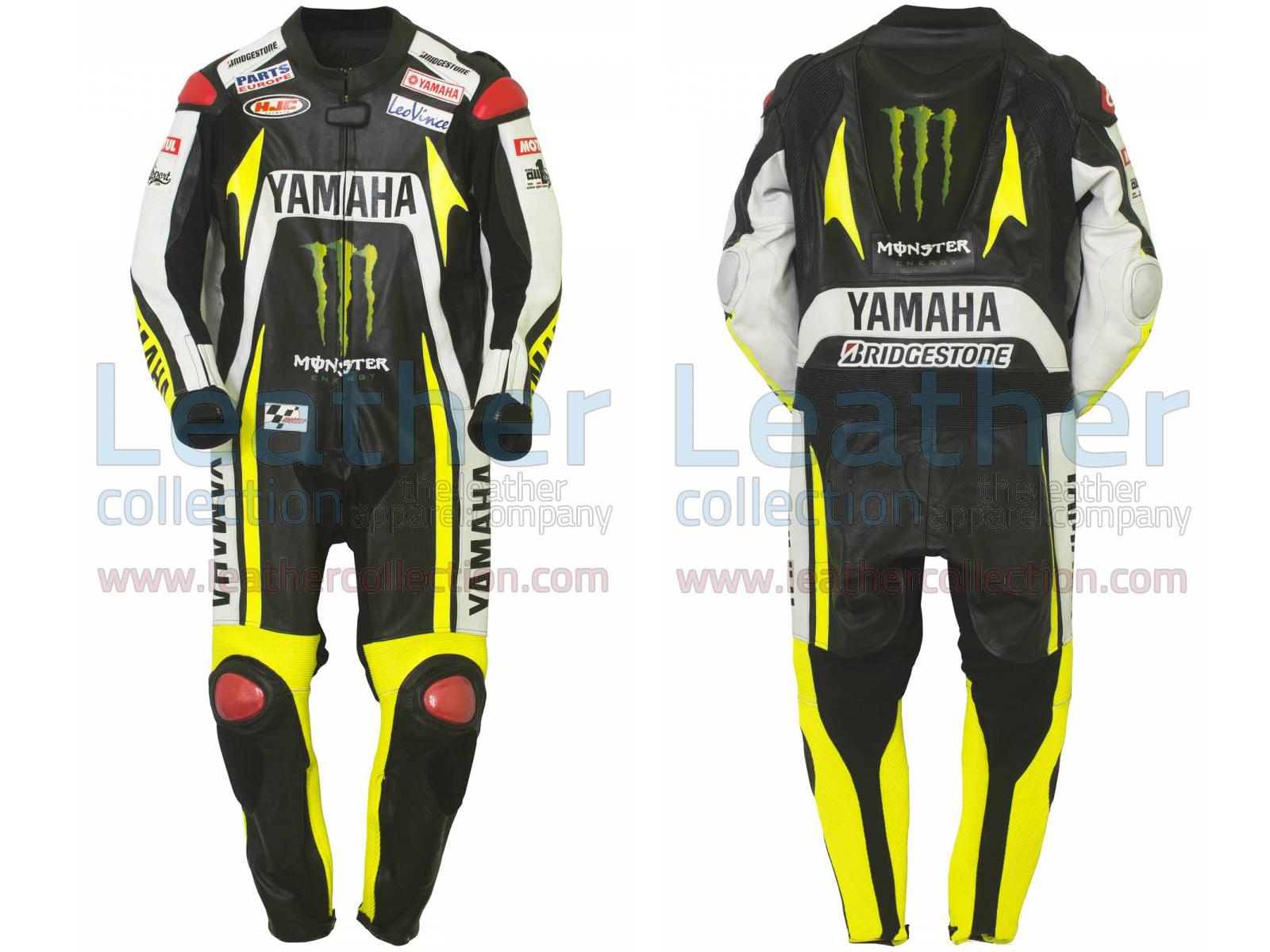 Ben Spies Monster Yamaha 2010 motorbike Leather Suit