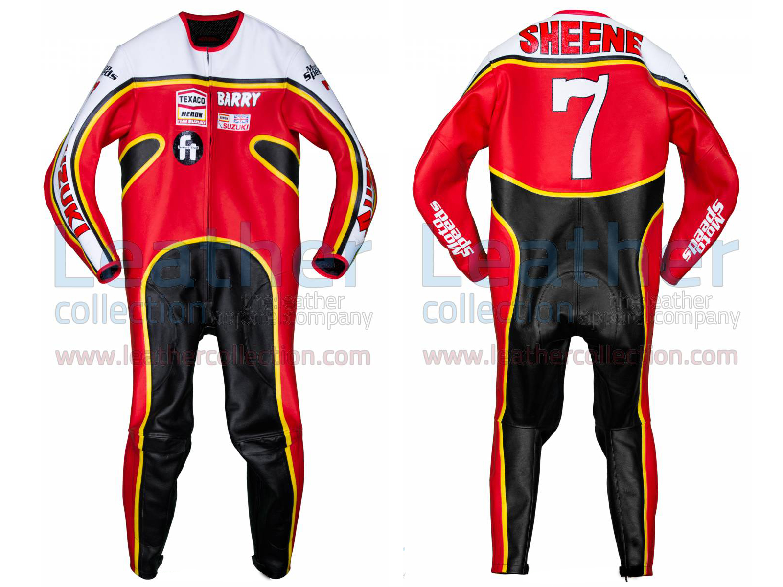 Barry Sheene Suzuki GP 1976 Leathers