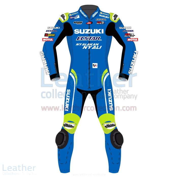 Customize Alex Rins Suzuki MotoGP 2018 Leather Suit for $899.00