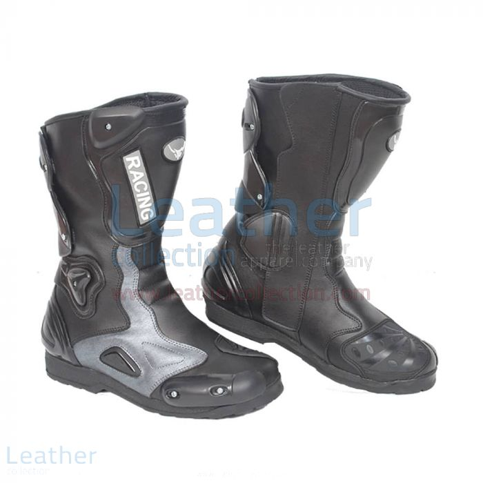 Alpha Racing Boots | Leather Collection
