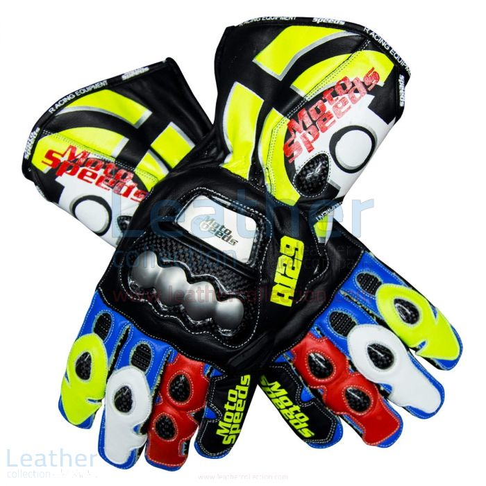 Shop Online Andrea Iannone 2019 Leather Motorcycle Gloves