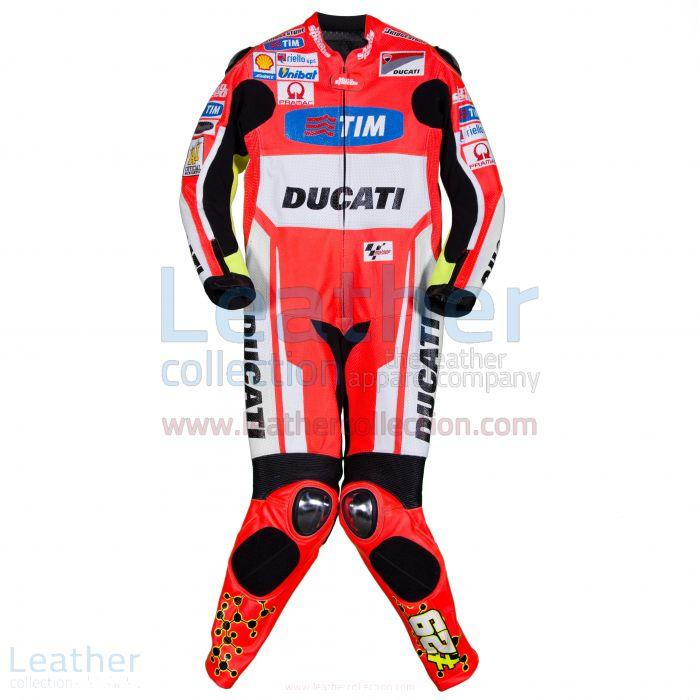 Online anbieten Andrea Iannone Ducati MotoGP 2015 Ducati Rennanzug €