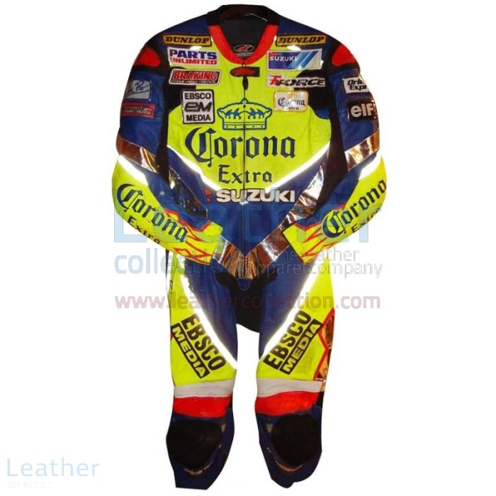 Purchase Online Anthony Gobert 2003 Corona Suzuki Race Leathers for A$