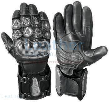 Motorradhandschuhe – Kauf Bandit Schwarze Moto Handschuhe