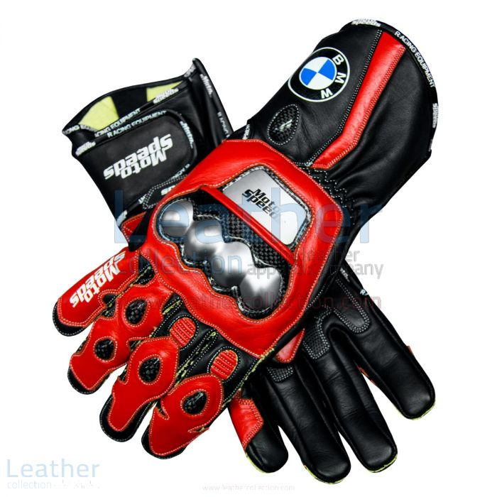 BMW Superbike Gloves upper view