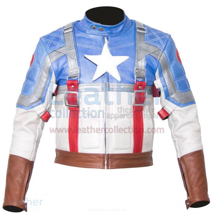 Comprar Chaqueta Capitan America – Leather Collection