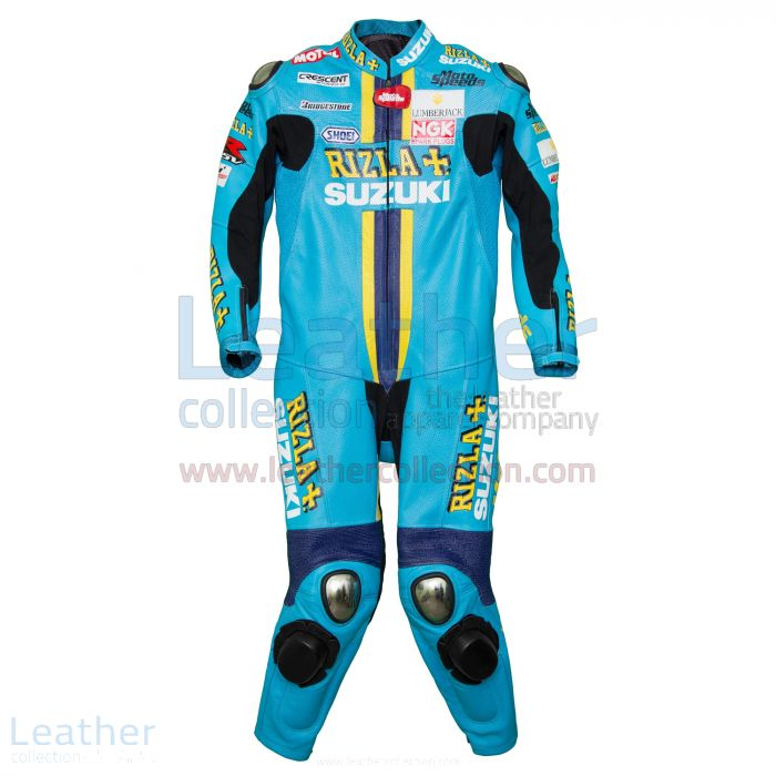 Shop Online Chris Vermeulen Rizla Suzuki 2008 MotoGP Leathers for $899