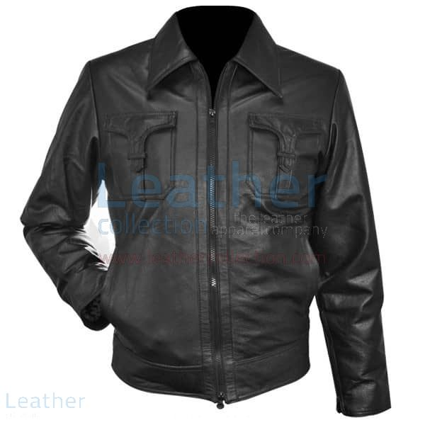 Pick it Online Classic Style Leather Jacket for SEK1,540.00 in Sweden