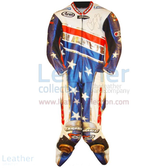 Buy Now Colin Edwards Aprilia Leathers 2003 MotoGP Pre-season for SEK7