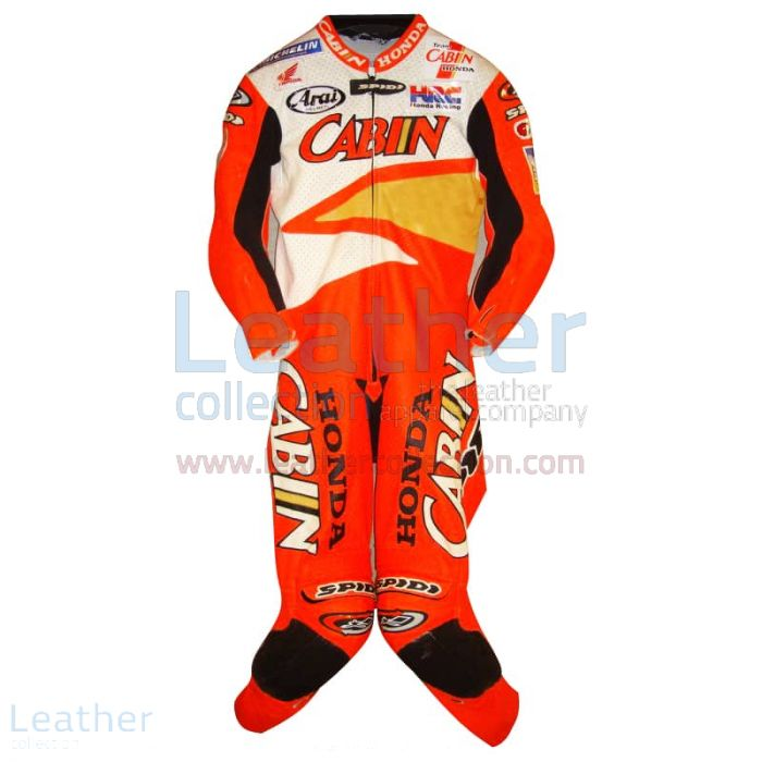 Offering Now Colin Edwards Honda Leathers 2002 Suzuka 8 Hours for $899